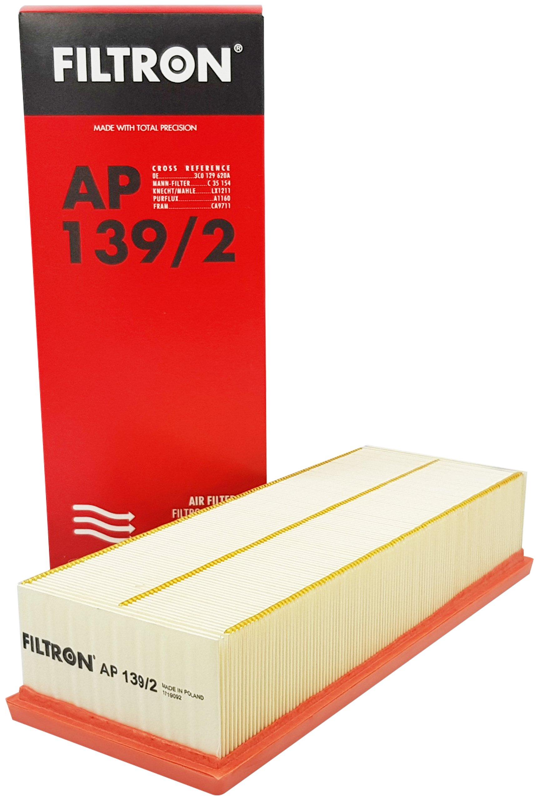фильтр воздуха filtron к vw touran 19 20 tdi