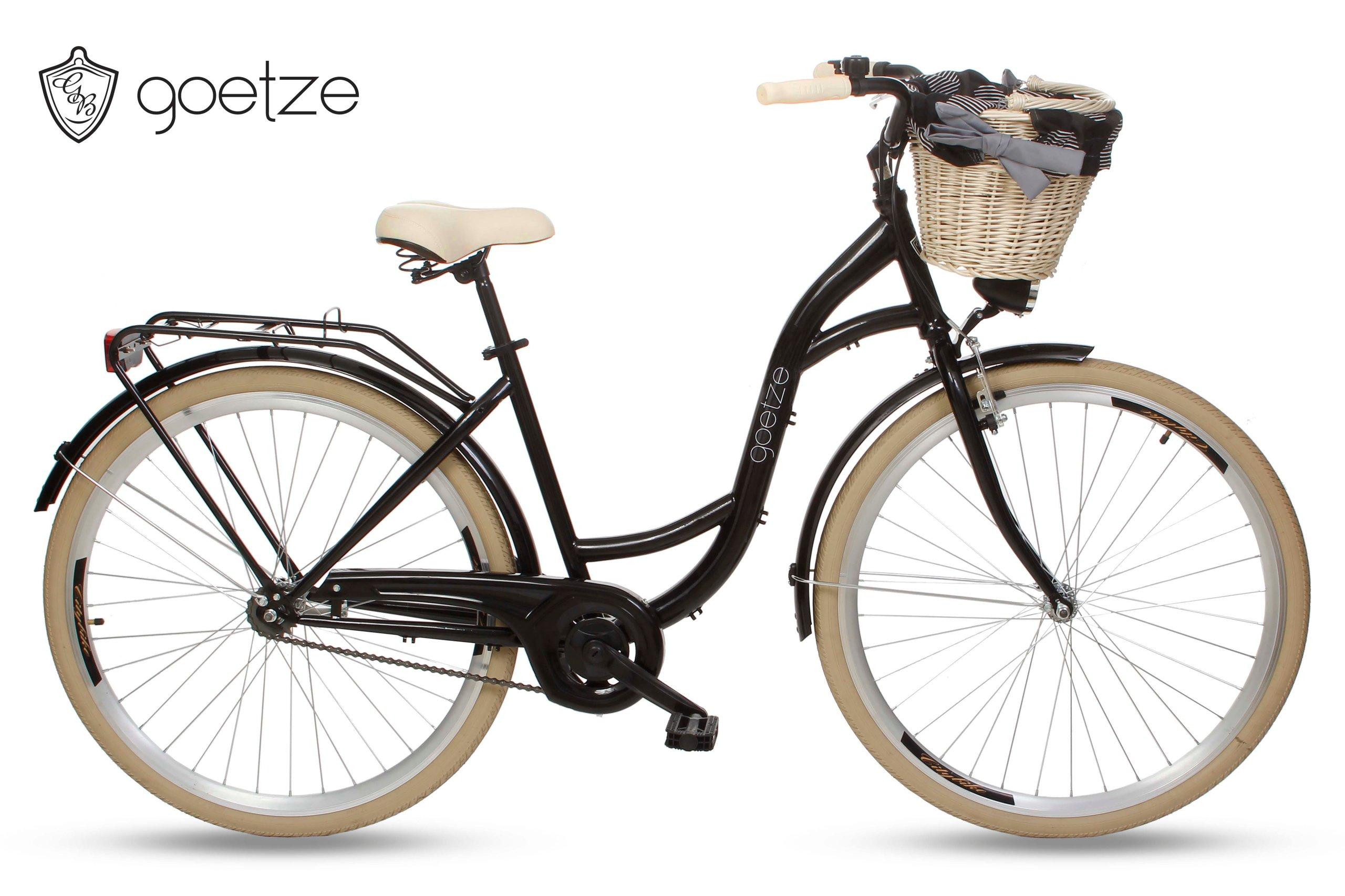 Ženské city Bike Goetze štýl LTD 28 koša