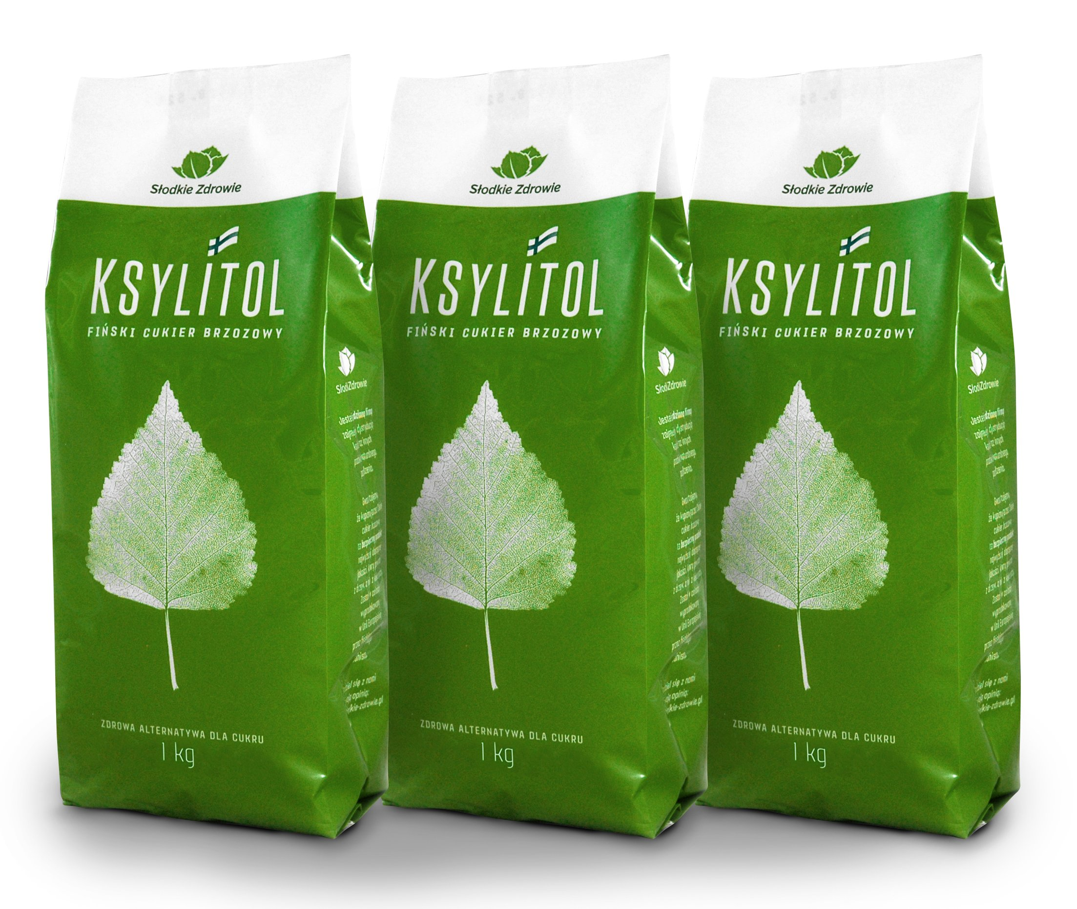 Cukor Breza 100% FÍNSKY xylitol ORIGINAL 3kg