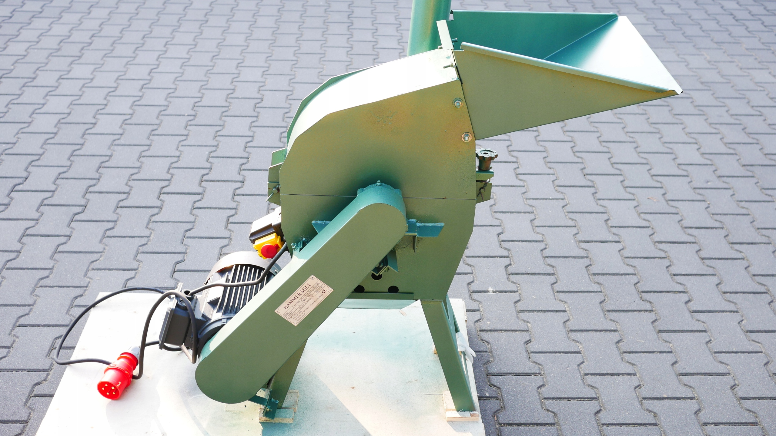 Mill Bijackic Biomass Crusher 4 kW pelety
