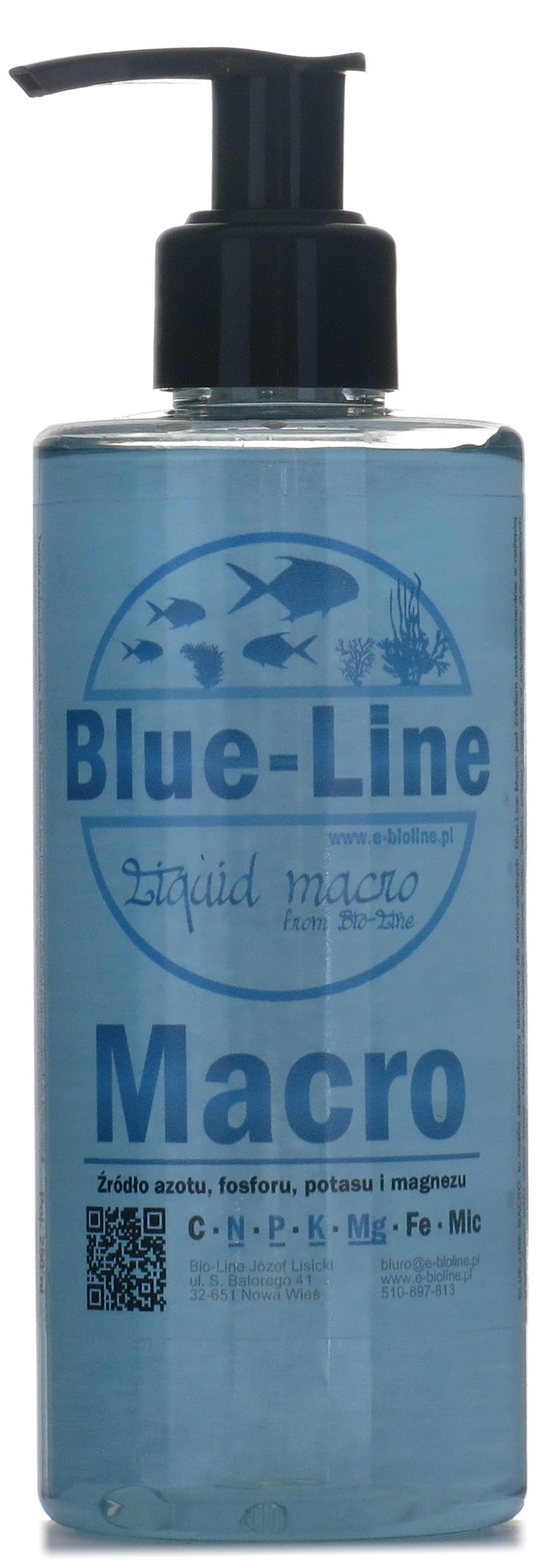 Blue-Line Macro удобрение для аквариум ! 500 мл ! Макрос
