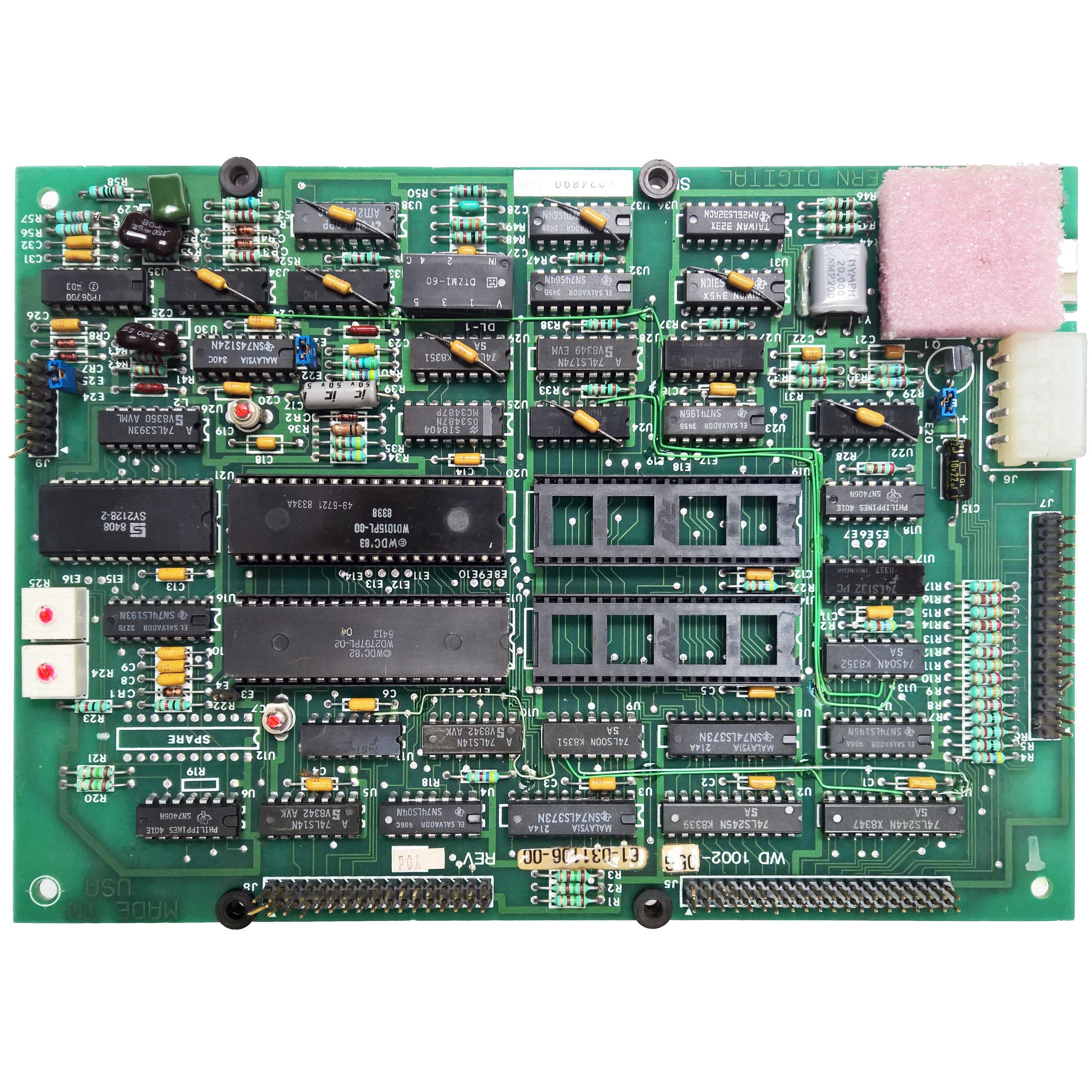Контроллер MFM WDC с диском 100% OK UuF
