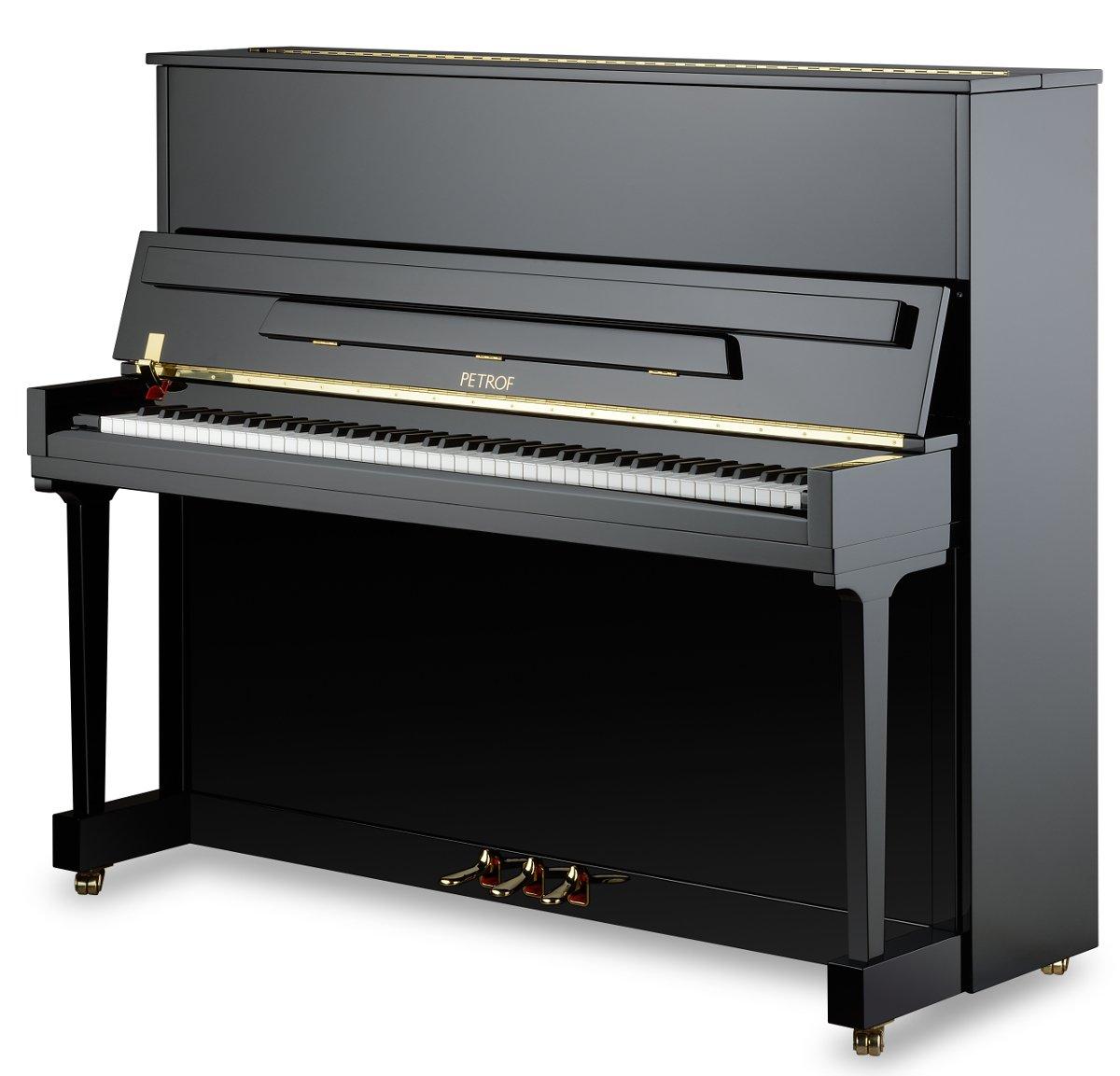 Piano Petrof P 125 K - Extrémne bohatý zvuk
