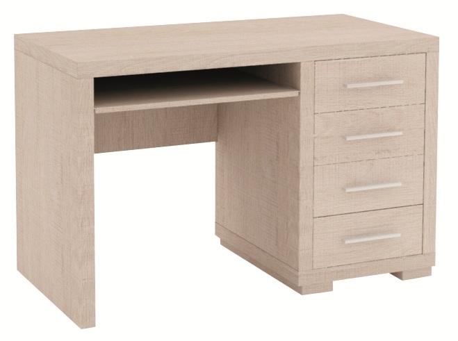 VIOLA 28 písací Stôl so zásuvkami 120x60 cm   2 farby