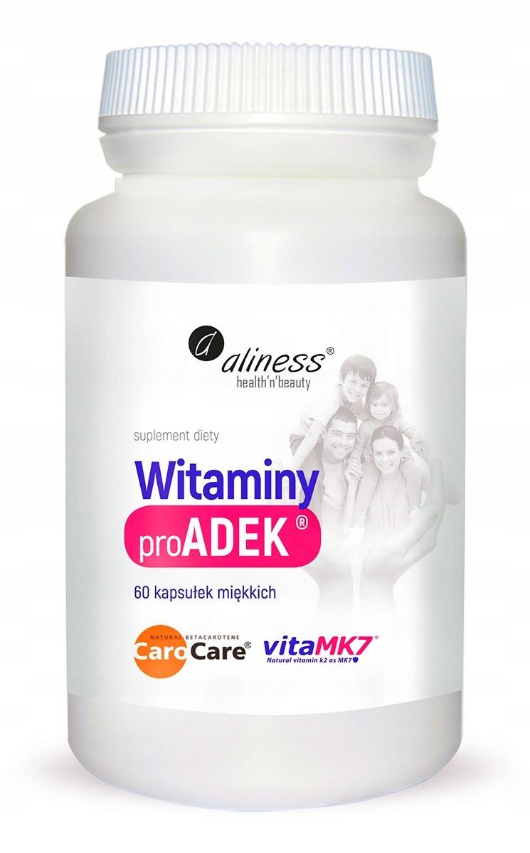 ALINESS ADEK COMPLEX witamina A D E K2 MK-7
