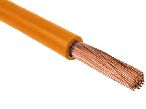 Провод одножильный 1,5мм2 (оранжевый)