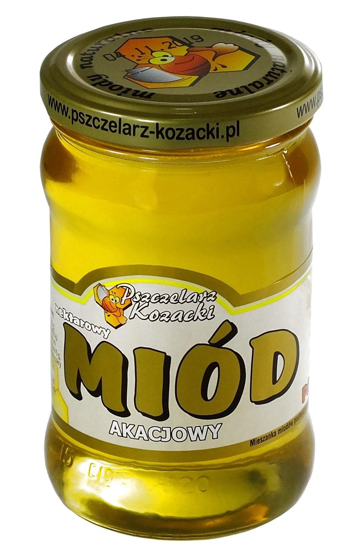 Купить МЕД АКАЦИЕВЫЙ 400 г пчелиного Skworcu SA на Otpravka - цены и фото - доставка из Польши и стран Европы в Украину.
