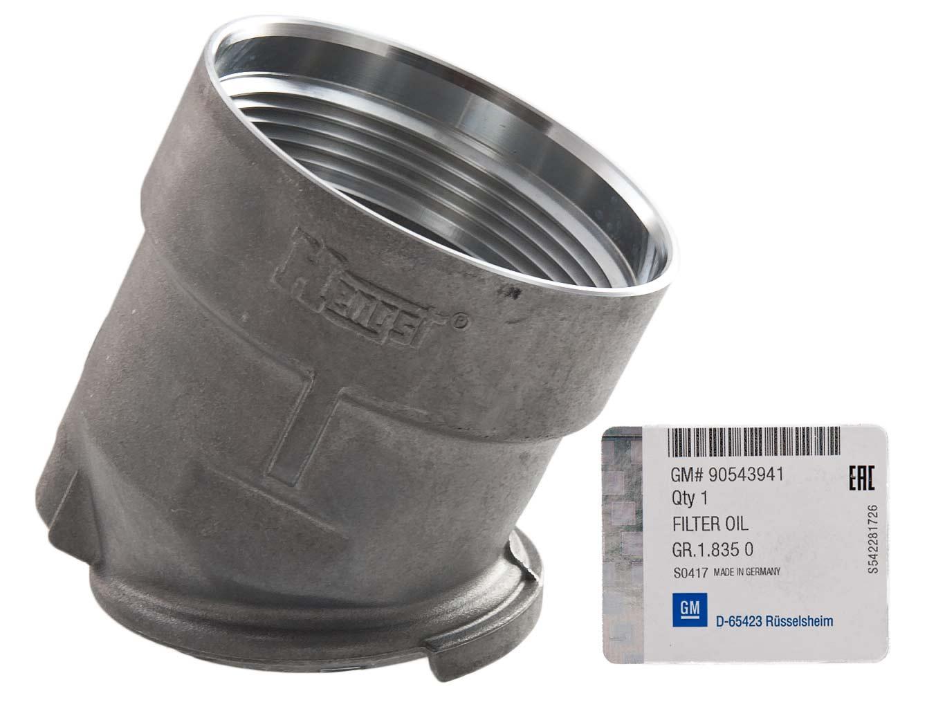 корпус фильтра масла gm opel zafira a astra g 18