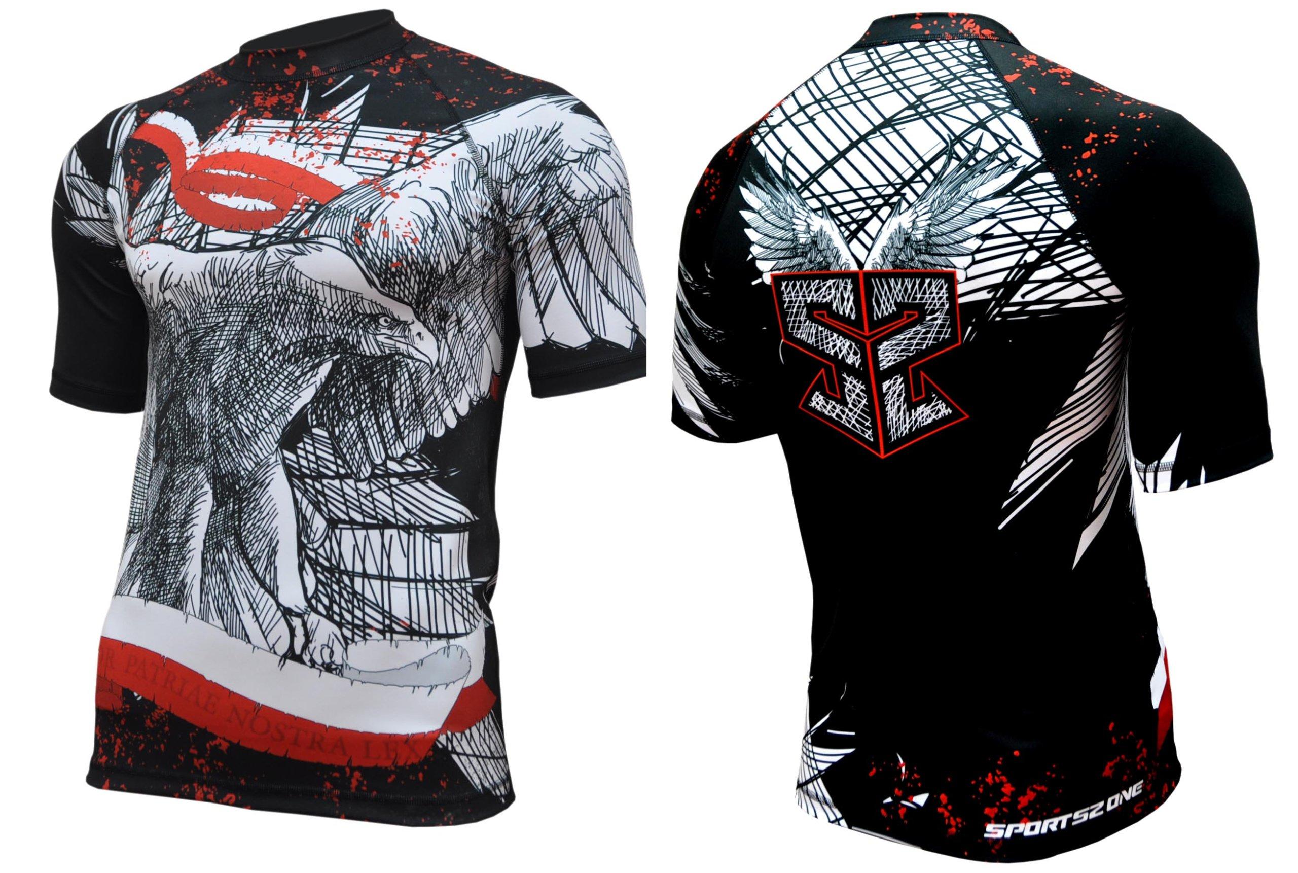 Termoaktívne tričko pre tréning. Pre bojové umenia.
