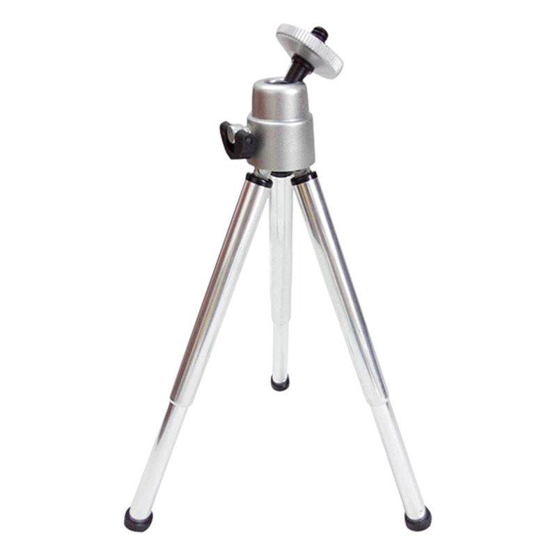 Mini Photo Statív 3D ALU Silver Svetlo