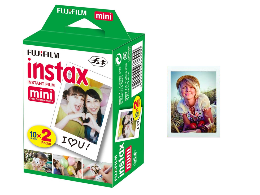 Item Contribution photos Fujifilm Instax mini 2x10 20 photos