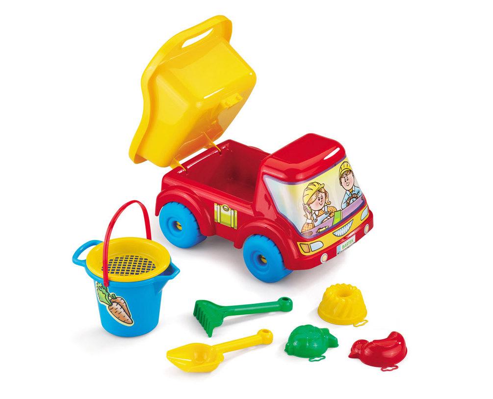 Bartek Car sklápač + sada pre Sandbox