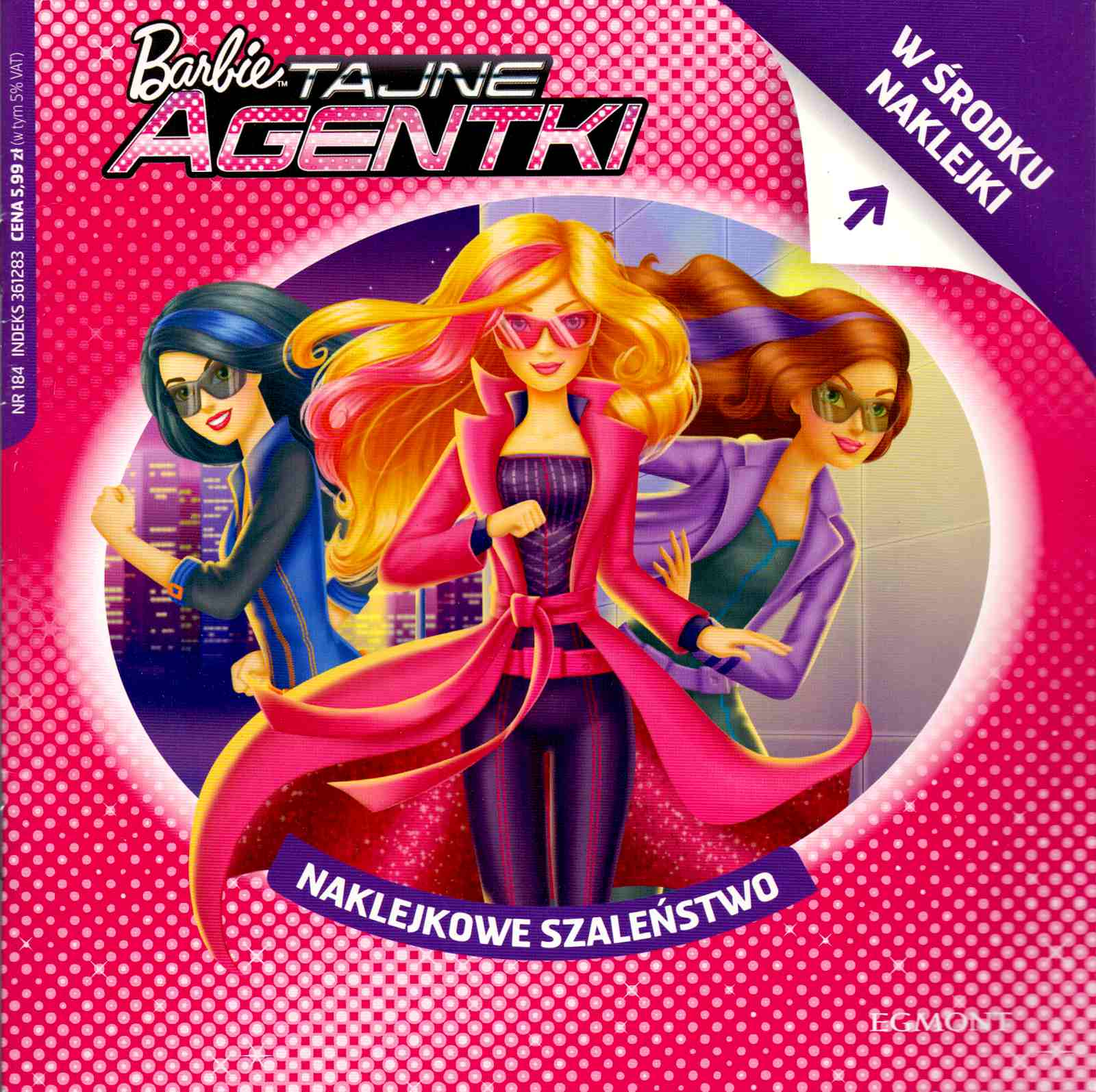 Barbie Tajne Agentki Naklejkowe Szalenstwo Allegro Pl Cena 2 99 Zl Stan Nowy Warszawa