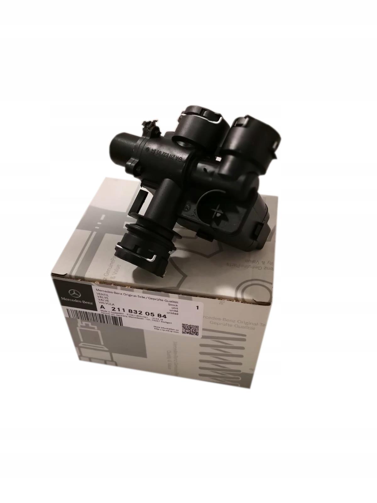 клапан нагревателя e класс w211 cls w219 mercedes