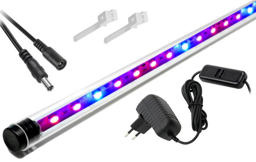 LED žiarovka RASTLÍN, rastlinných 160 cm akvárium 4:1
