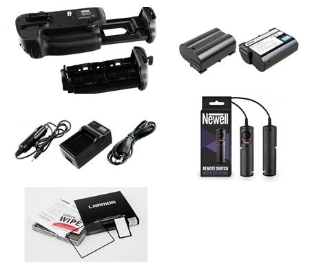 Súprava pre Nikon D5300 Grip / AKU / LCD / OSŁ / WEŻYK / Komora
