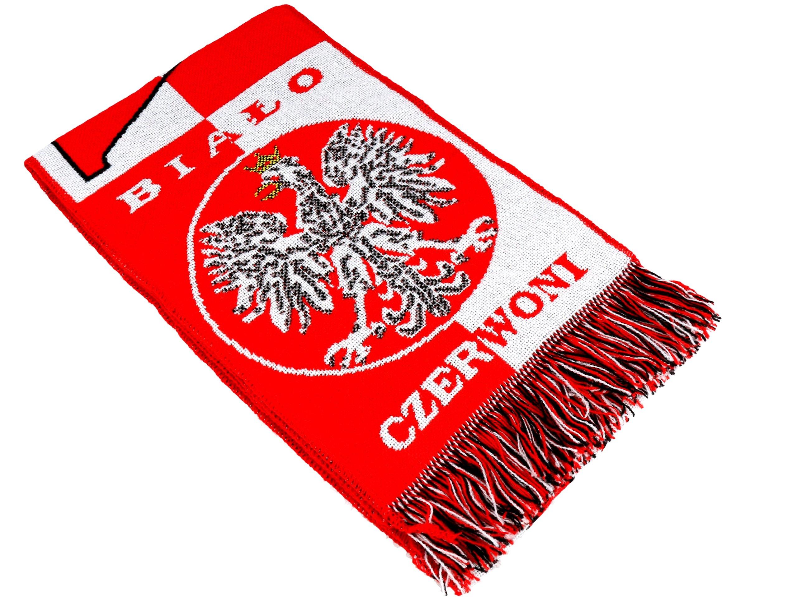 Scarf Poľský fanúšik Scarfs poľského národného tímu!