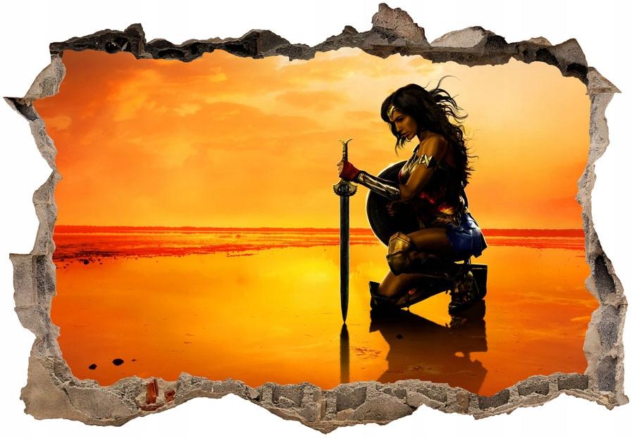 Wonder Woman fototapeta 3D, 70x50cm