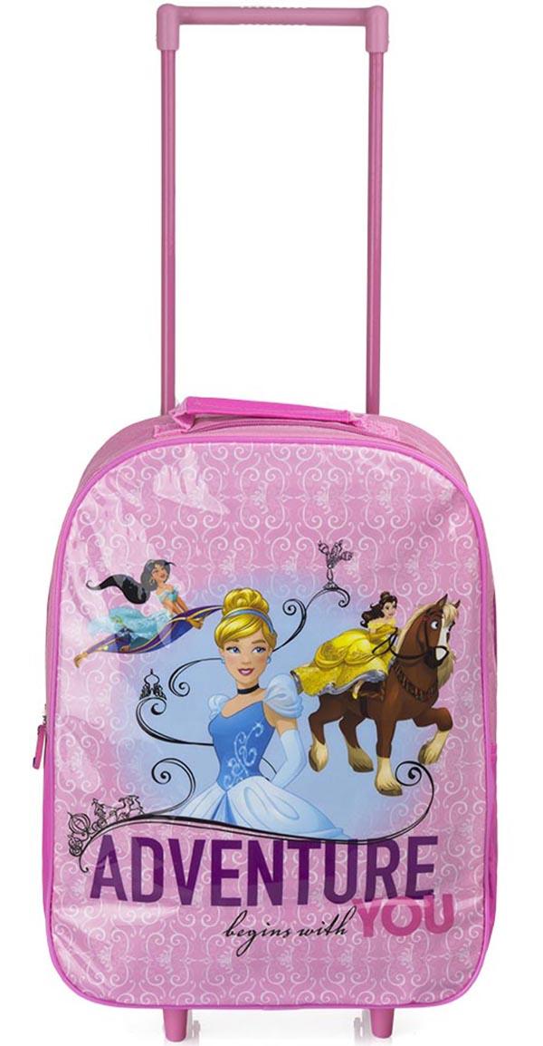 Kufr na kolesá taška pre deti princezná