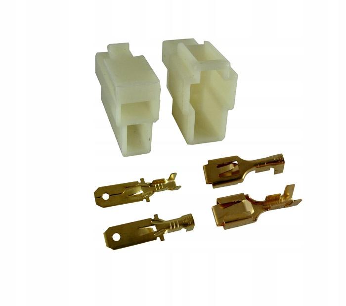 Кубик разъем корпус разъем 2 pin + кабель в сборе