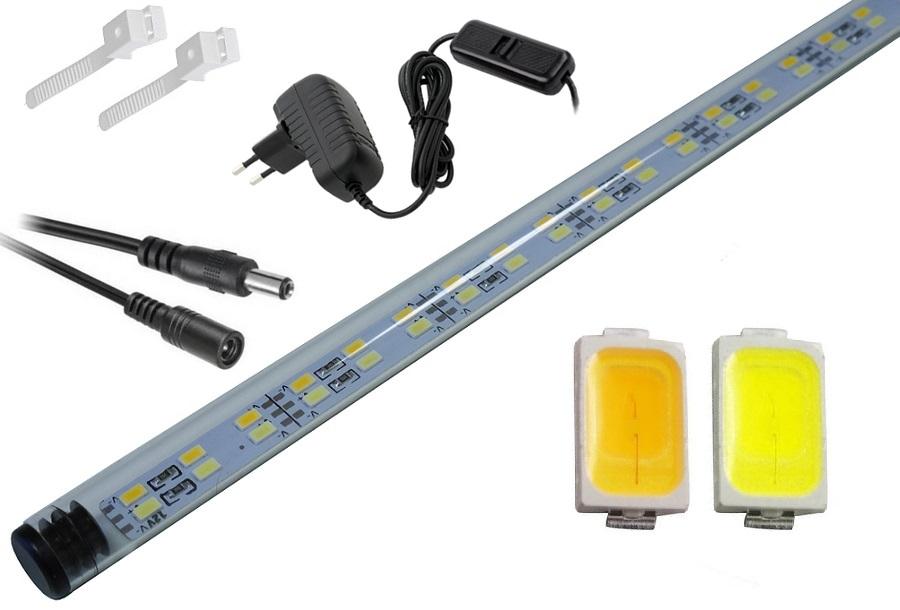 LED lampa akvárium 5630 200 cm A ŠTÍHLY MIX 1:1