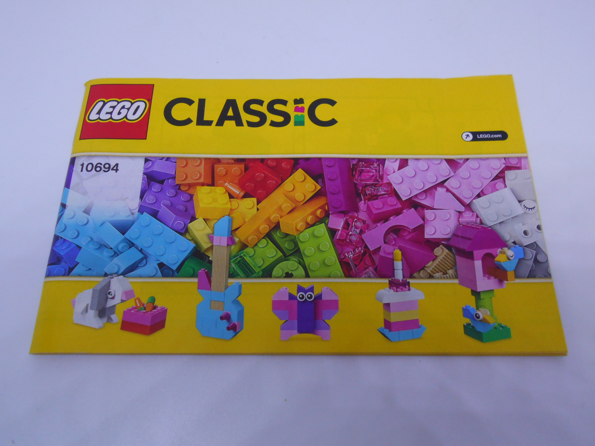 Instrukcja Lego Classic Creative Supplement 10694 7262390396