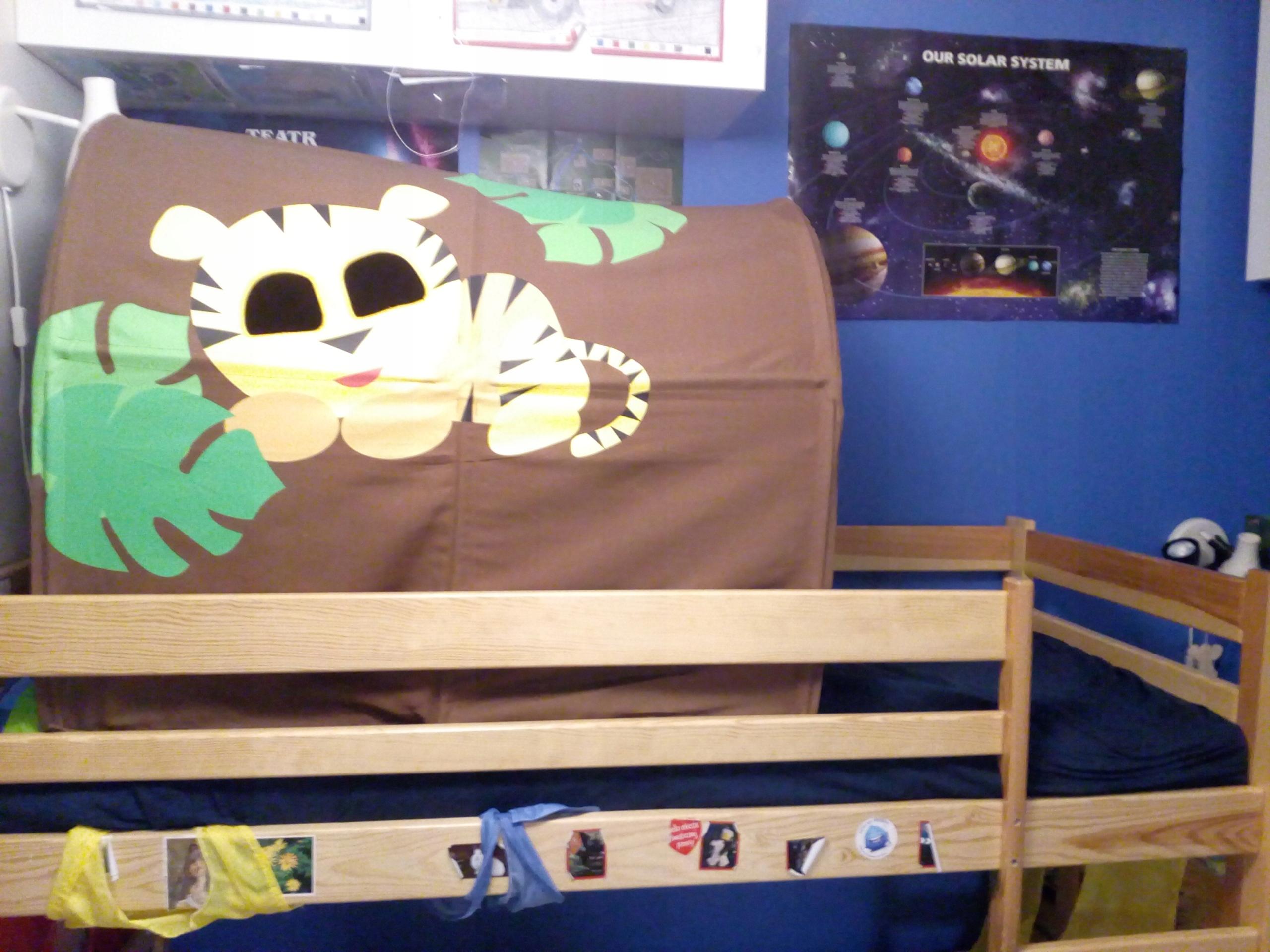 Tunel Baldachim Do Dziecięcego łóżka Flexa