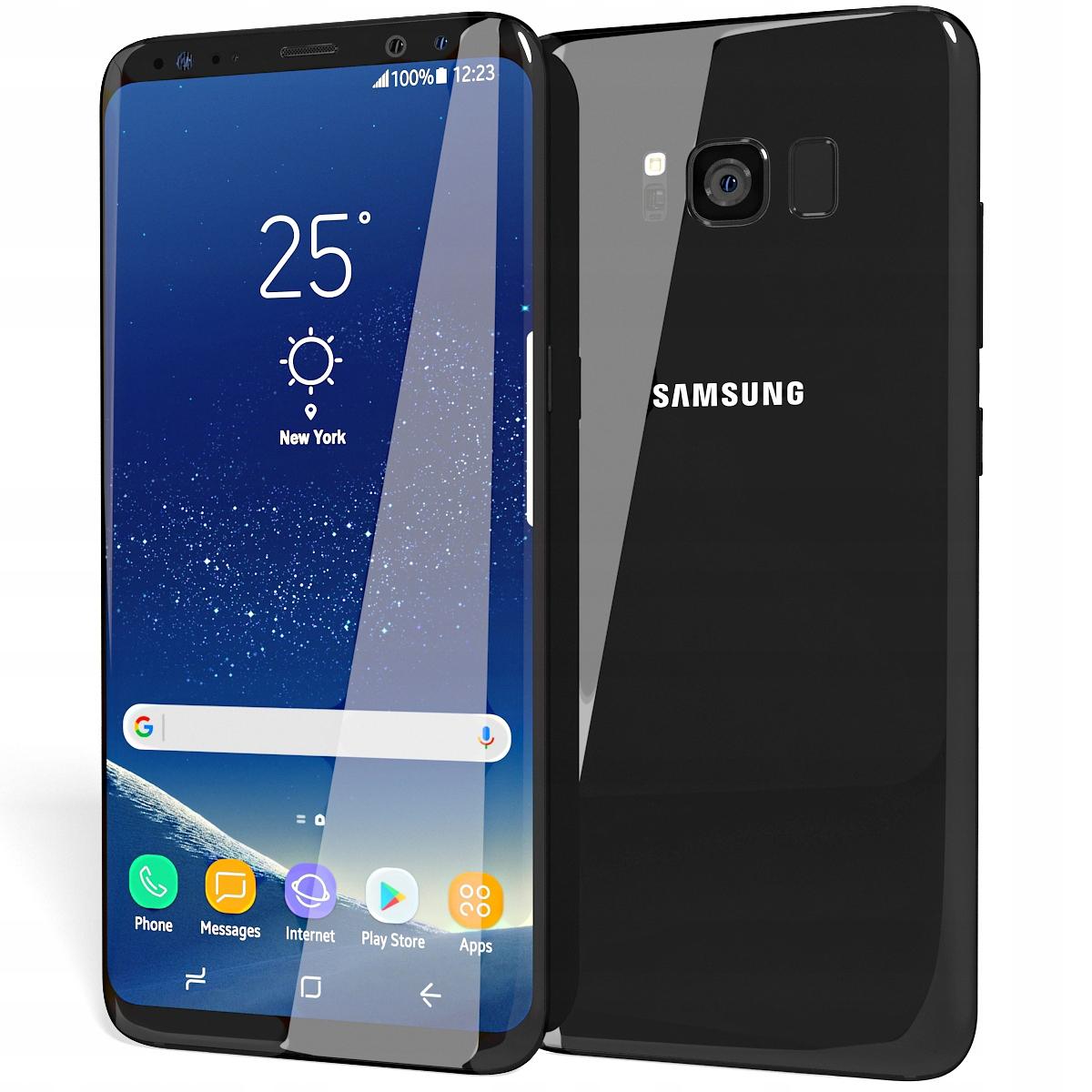 Samsung Galaxy S8+ Czarny,Black, Nowy,Plomba,GW24!