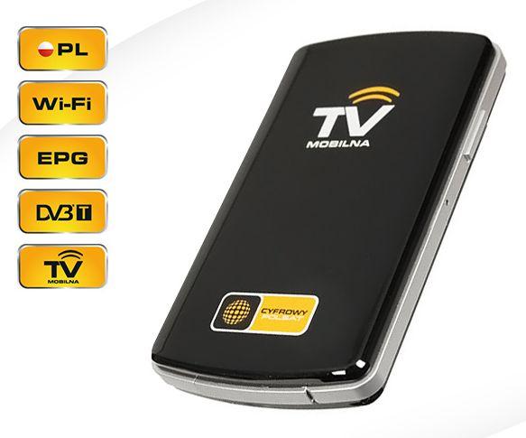 Mobilny dekoder darmowa telewizja tuner DVB-T WIFI