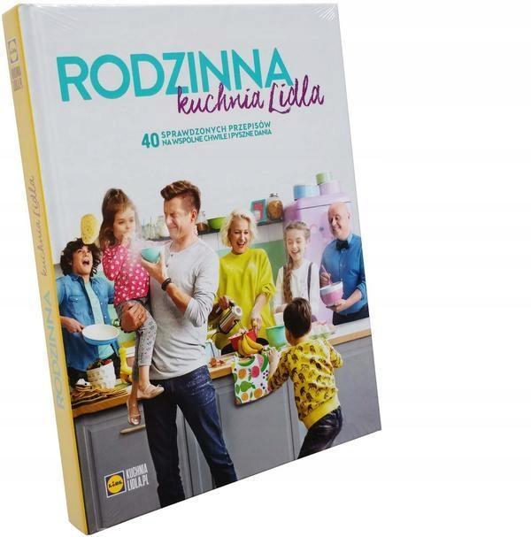 Książka Rodzinna Kuchnia Lidla Książki świąteczne