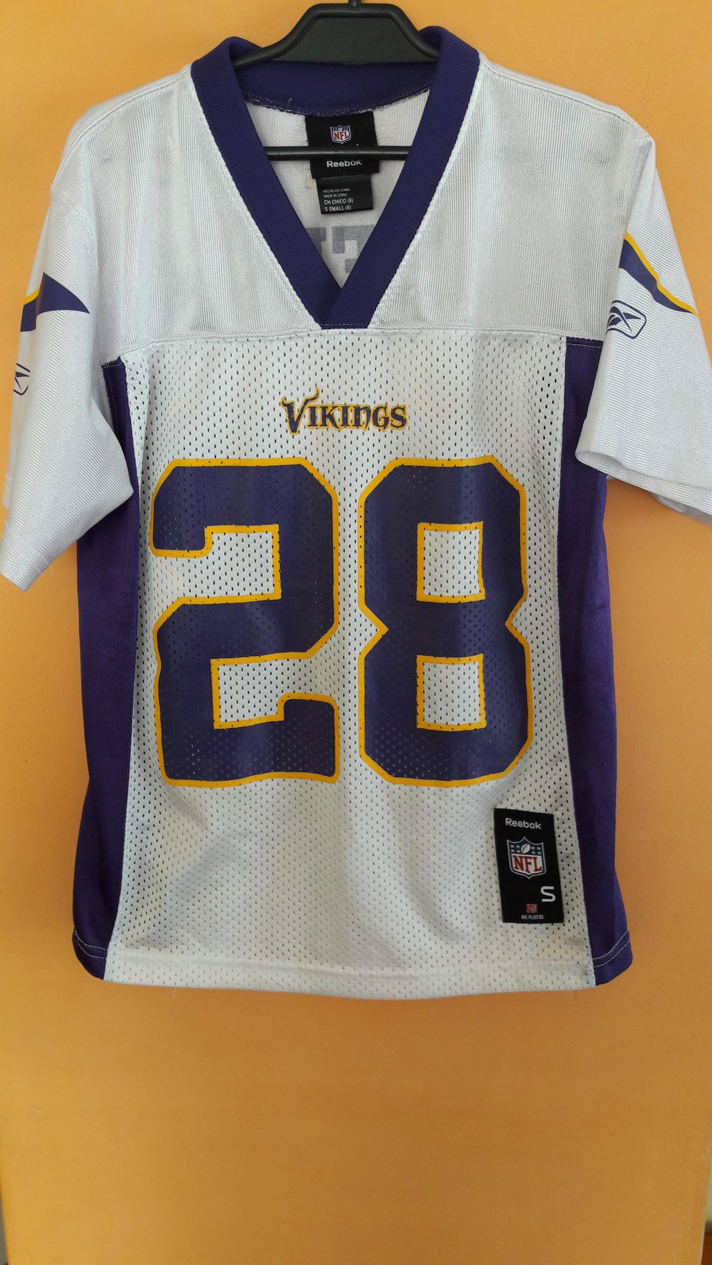 Koszulka NFL Vikings nr 28 Peterson