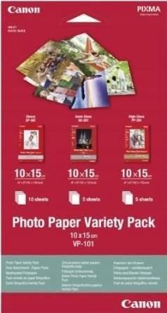 Papier fotograficzny CANON VP-101 10x15