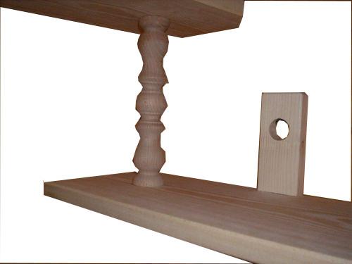 Półki Drewniane Wiczące Na ścianę 7324008751 Oficjalne