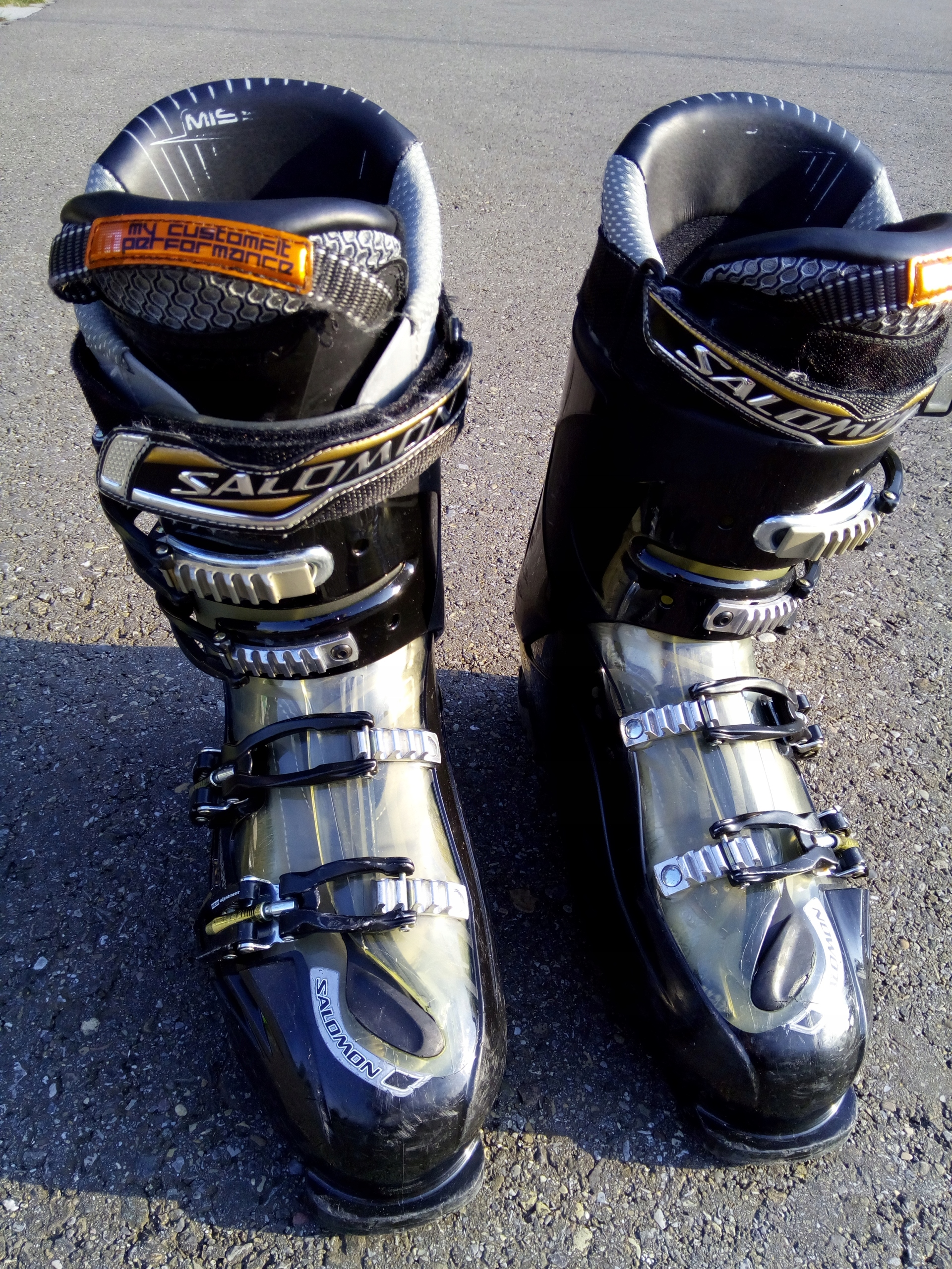 Buty narciarskie Salomon MISSION RS 8