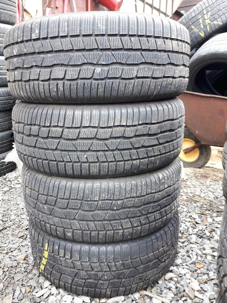 Opony Zimowe Continental 22550 R17 ładne Komplet 7251794546