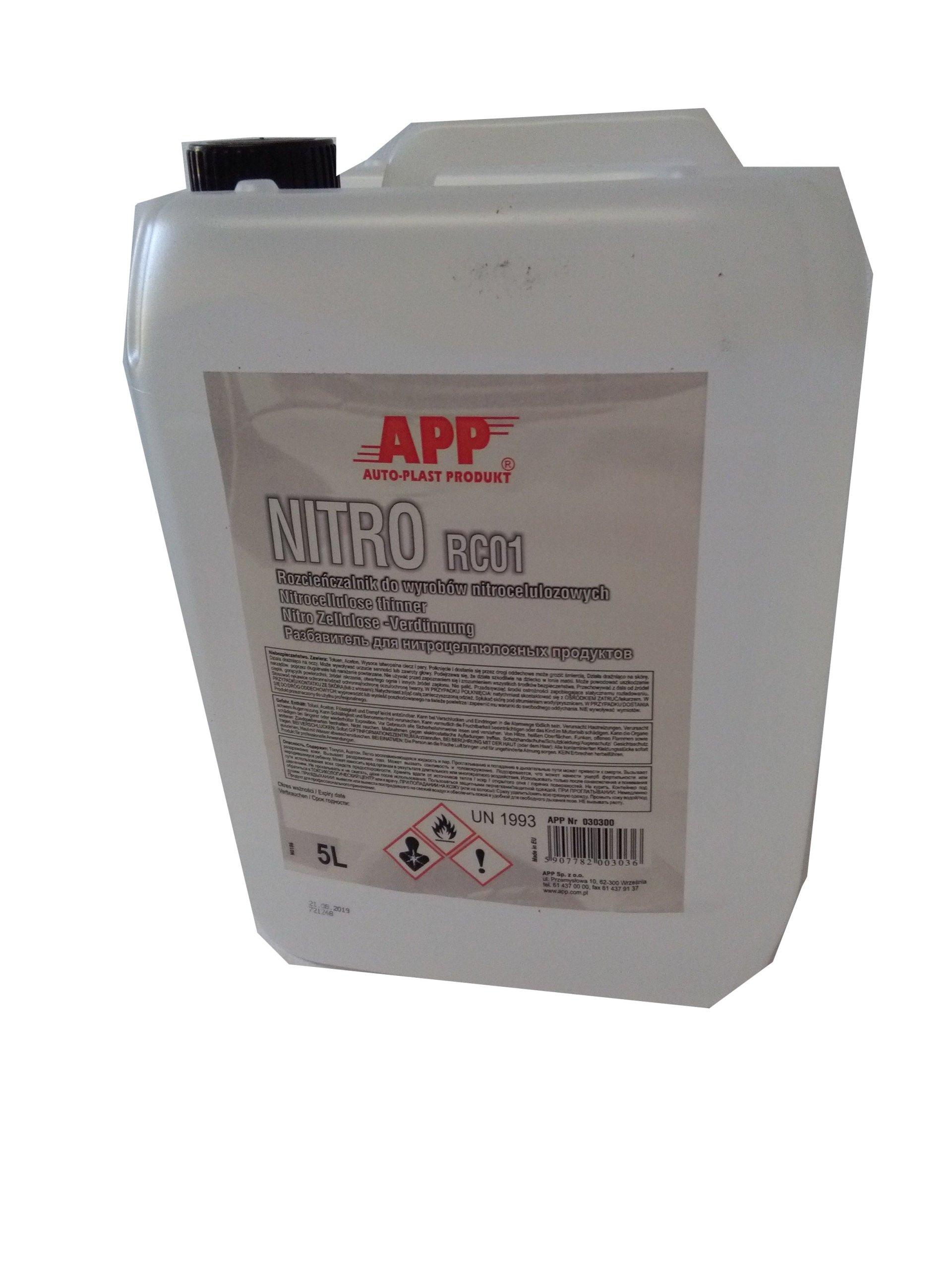 APP NITRO RC01 - 5L