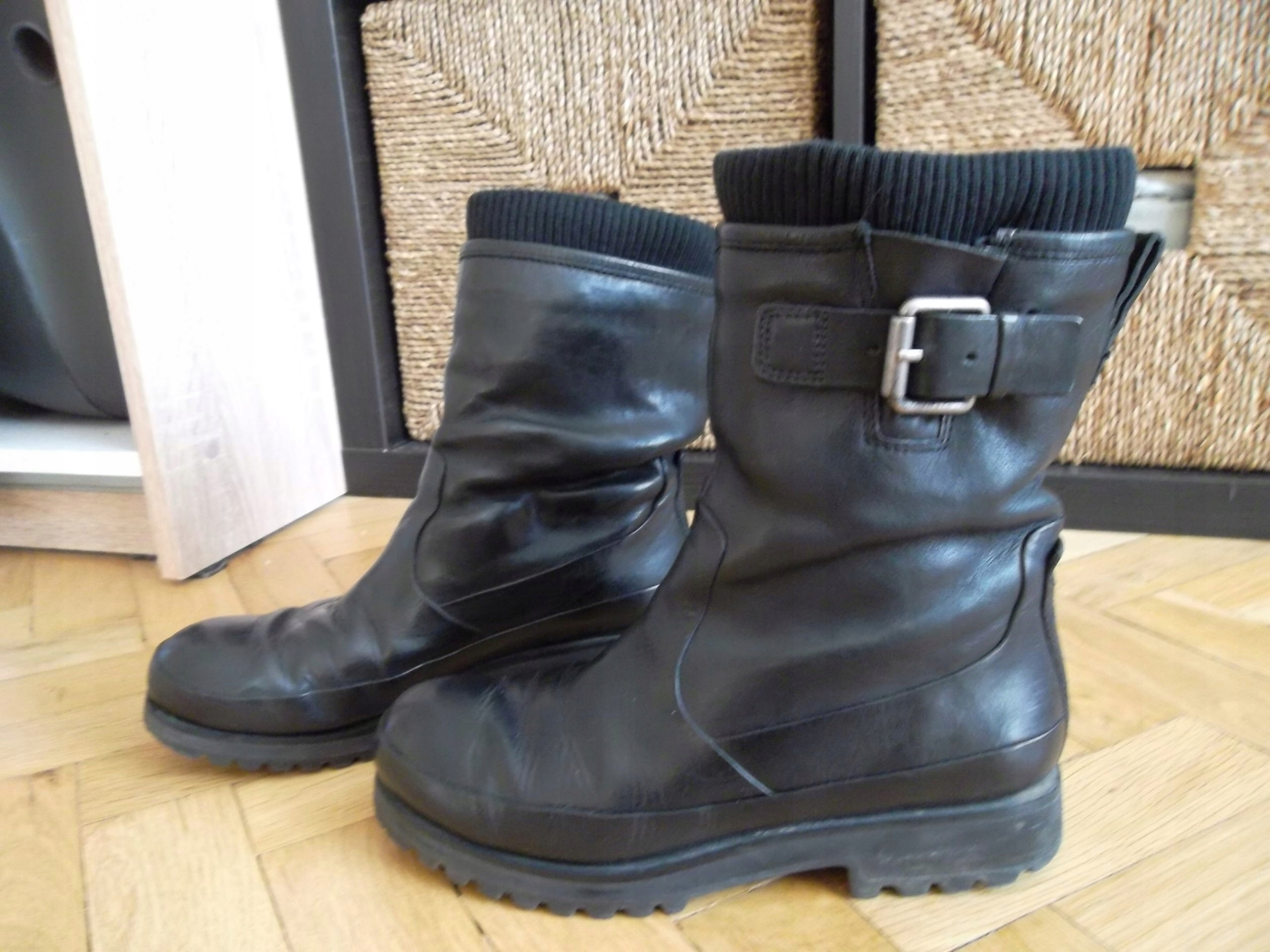 a4e76bd4 ECCO skóra buty motor shoes jesień zima 36 TANIO!! - 7591387748 ...