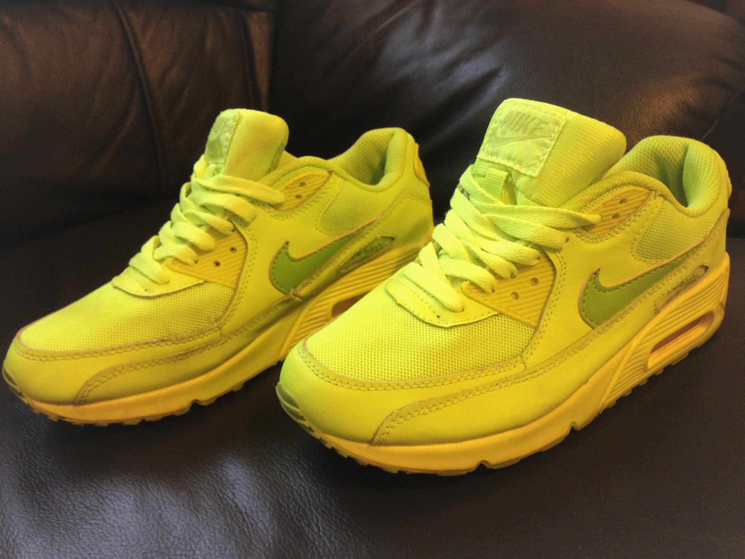 d1cc5ee79472a4 Buty Nike Air Max 90 GS 307793-700 Damskie 38 / 39 - 7380887648 ...