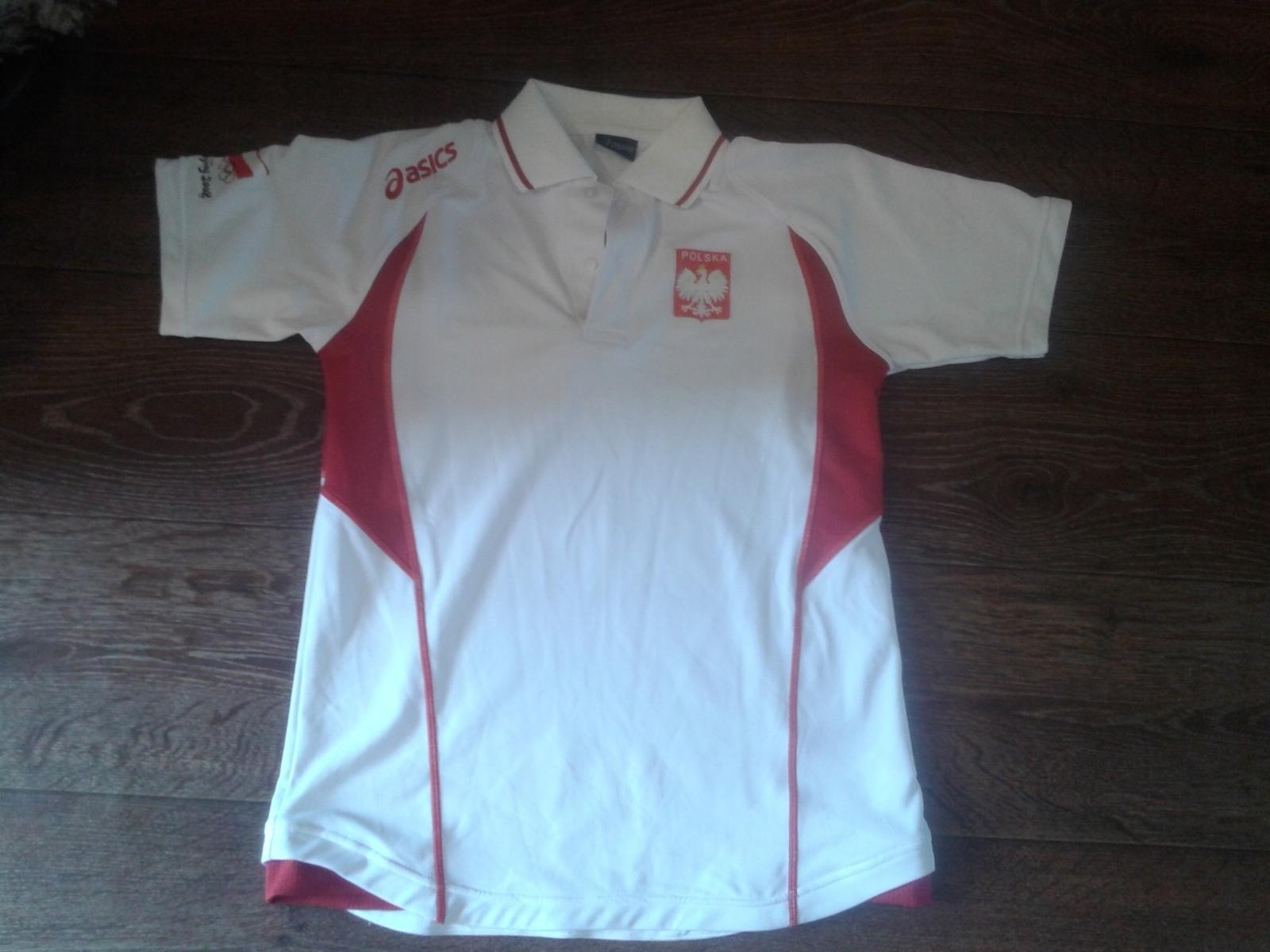 Koszulka POLSKA XXS asics siatkówka ( adidas )