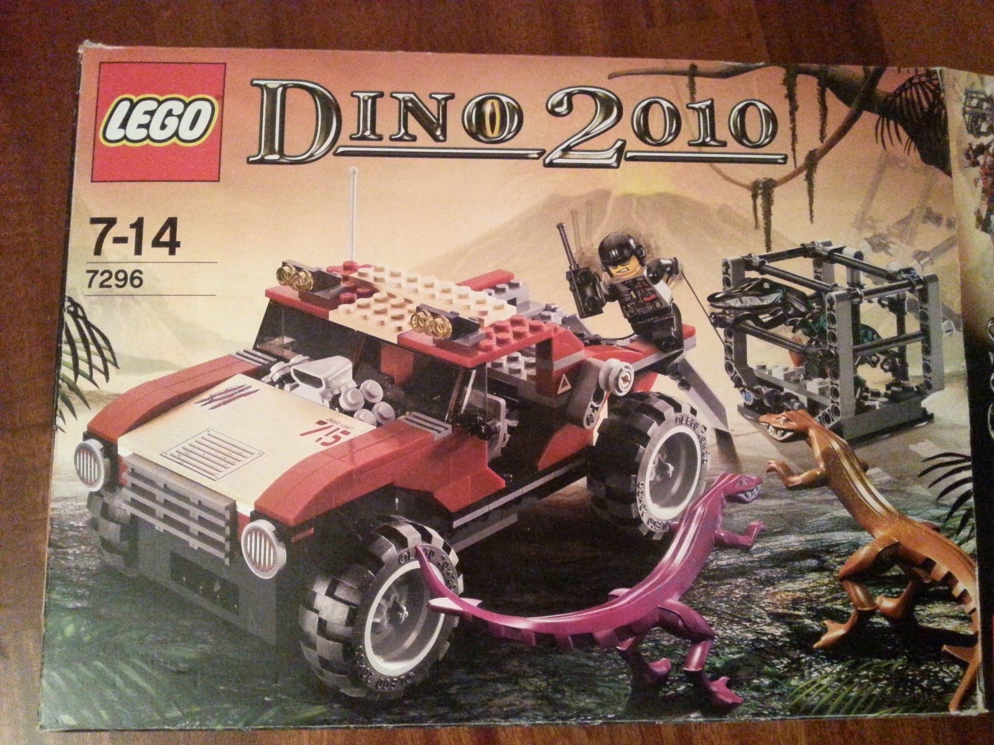 Lego Dino 2010 zestaw 7296