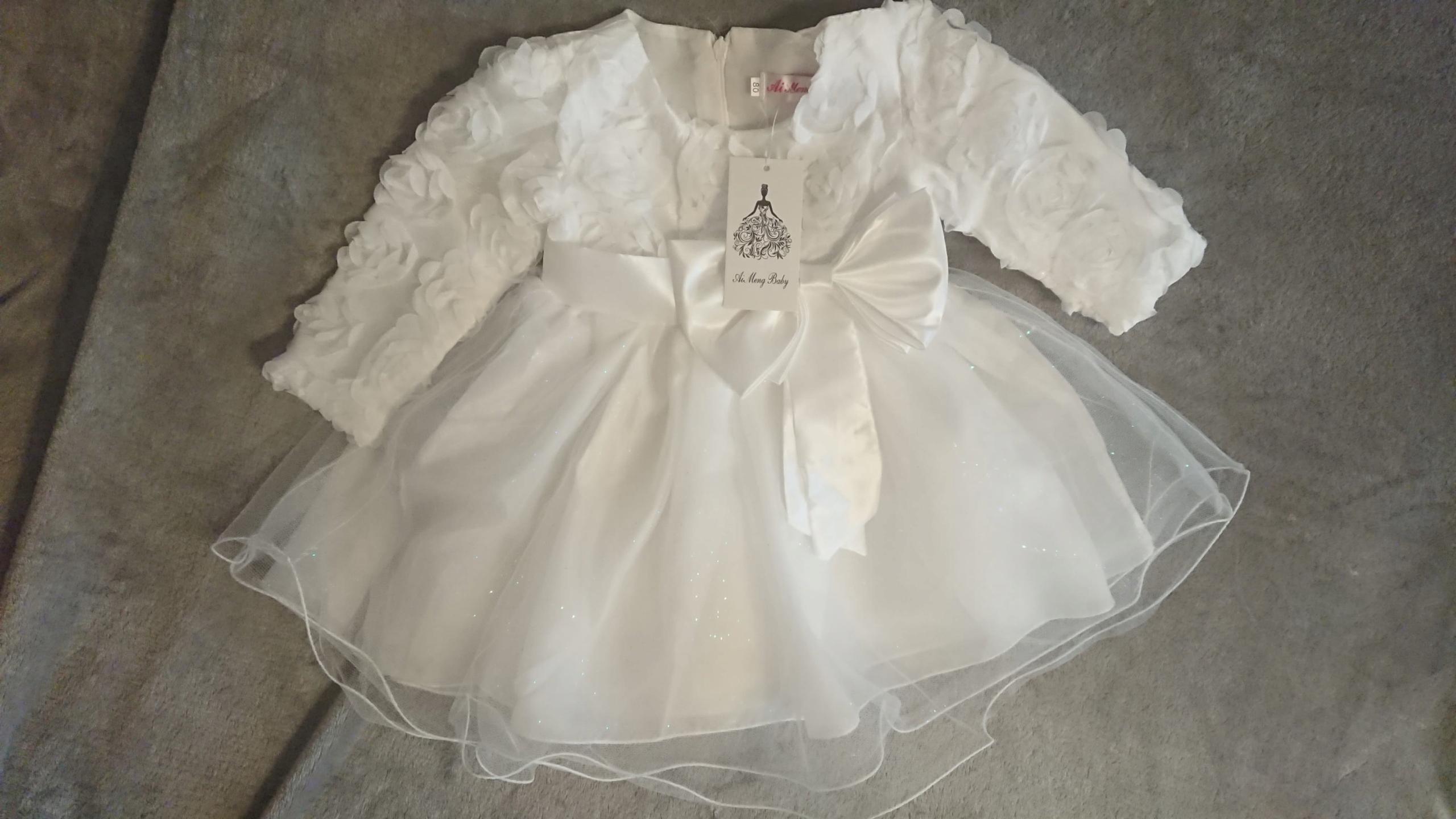 8321f917b12768 sukienka , prezent , chrzest , księżniczka - 7703086606 - oficjalne ...