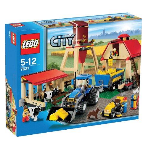 Lego City 7637 Farma Unikat 2009 7074142147 Oficjalne Archiwum