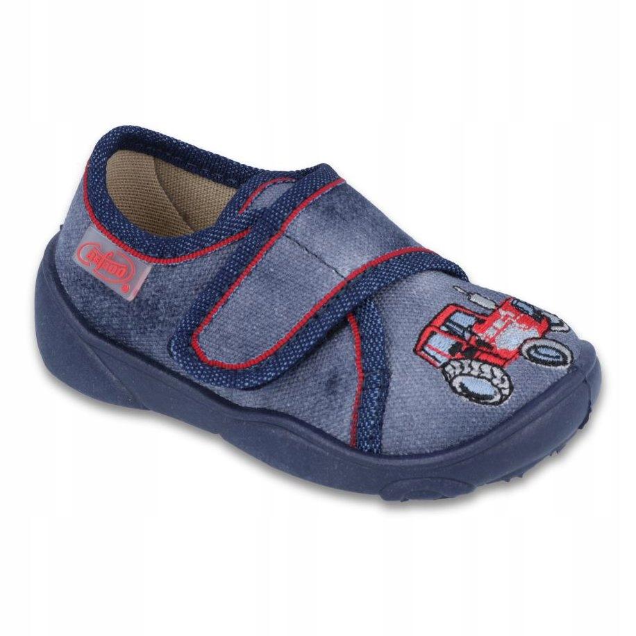 Niebieskie Tekstylne Buty Dla dzieci Befado rozmiar 23