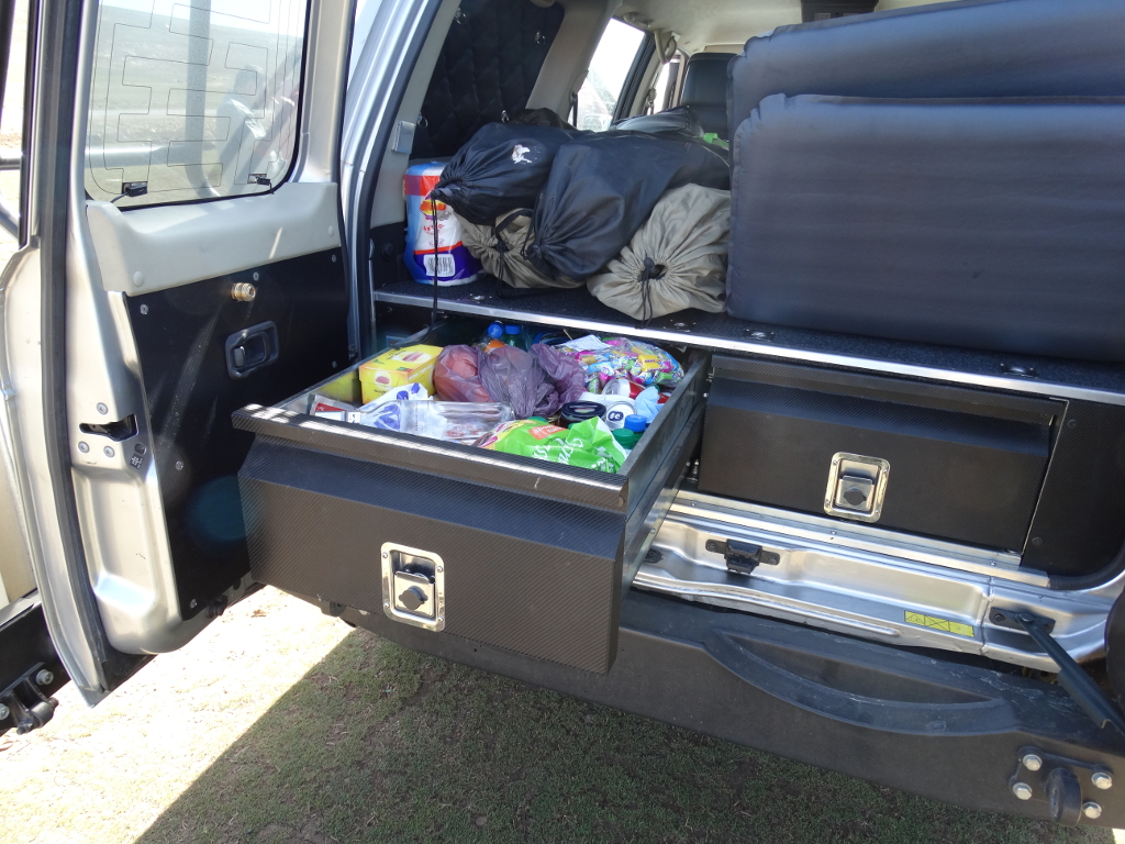 Zabudowa Wyprawowa Bagaznika Nissan Patrol Y61 Gu4 7430598484