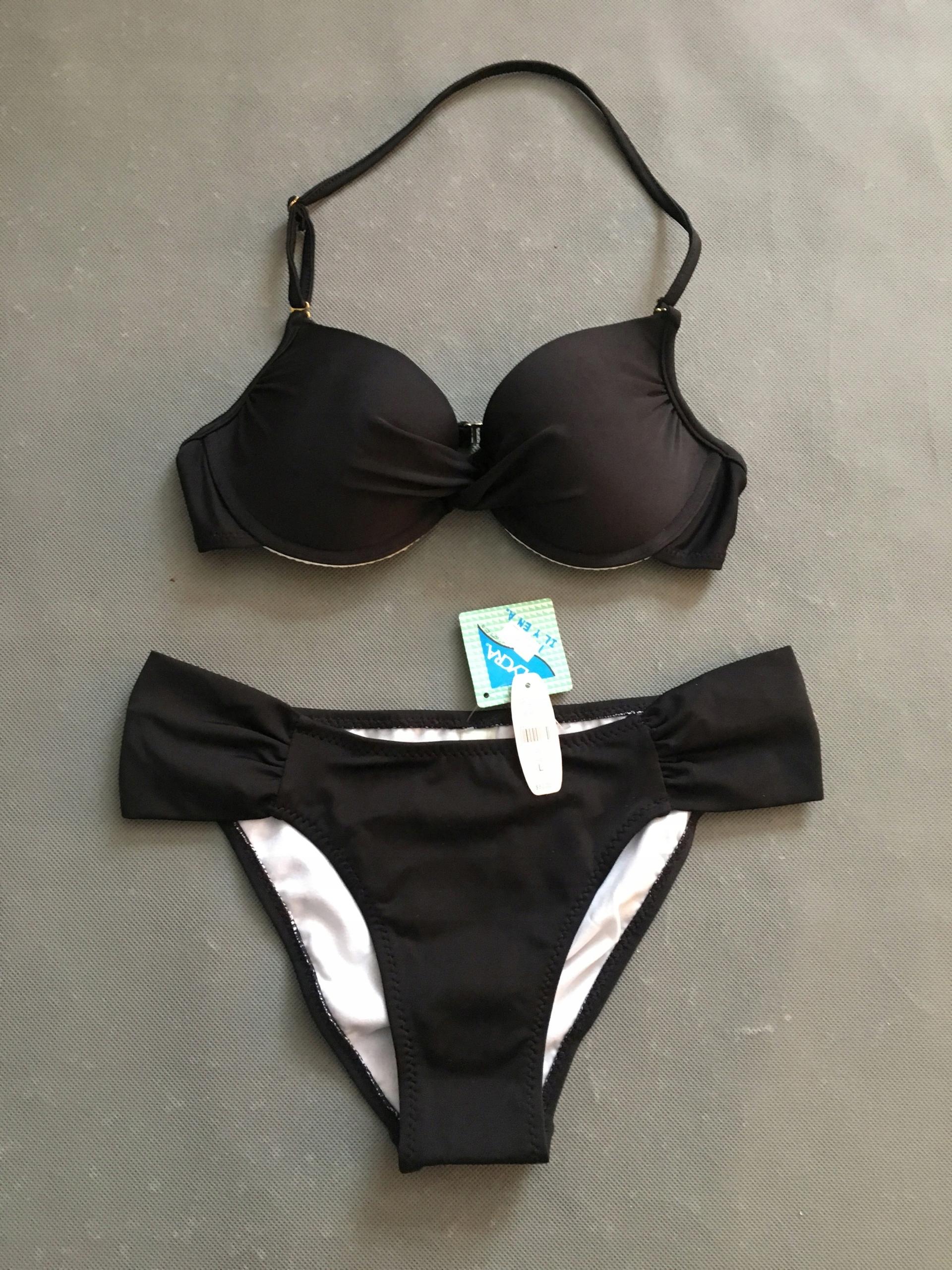 feea6f0aa5aa68 VICTORIA SECRET strój kąpielowy push up S - 7438660570 - oficjalne ...