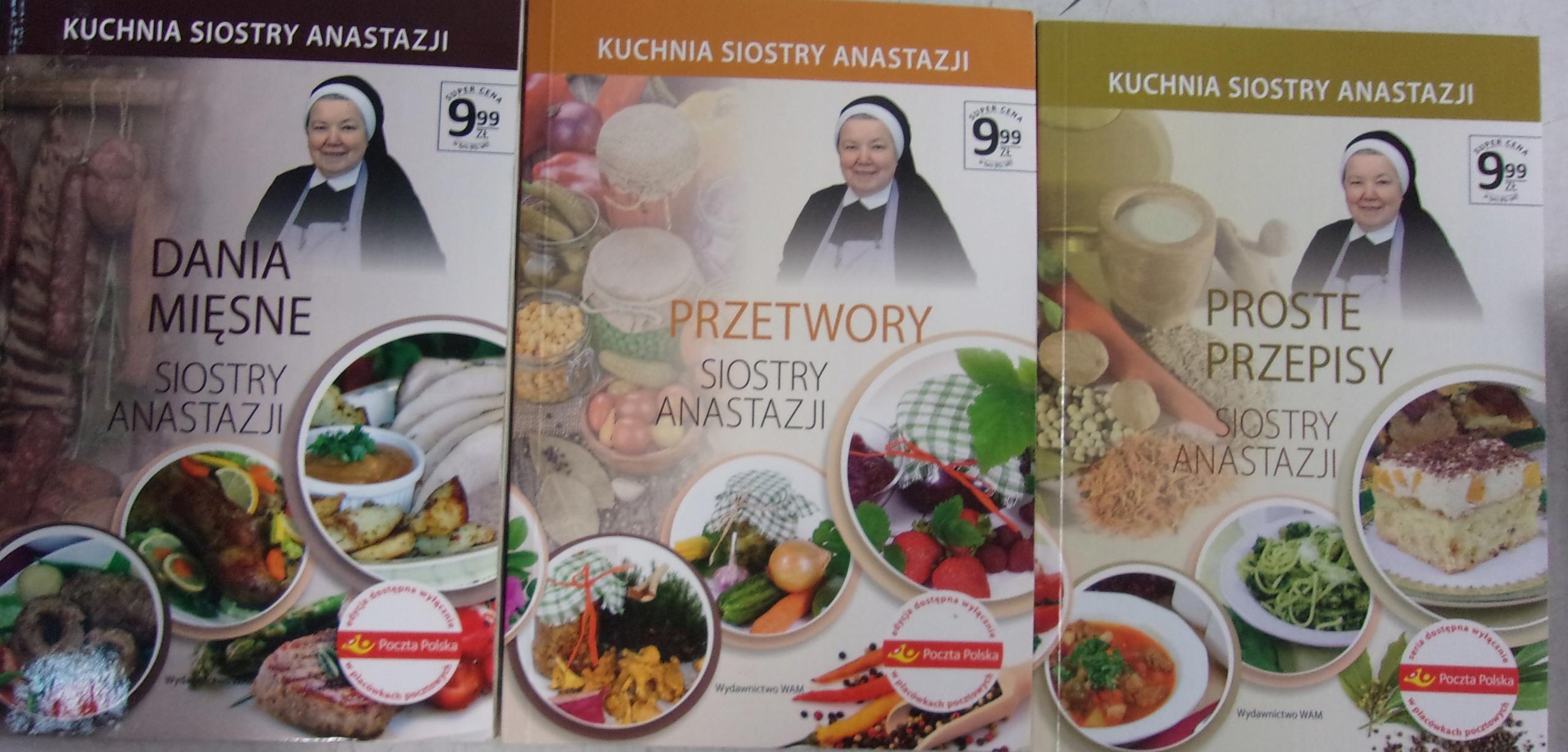 Kuchnia Siostry Anastazji 3 Książki 7668467330 Oficjalne