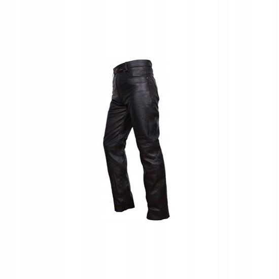 695e8e6f Spodnie skórzane ADRENALINE CLASSIC czarny 4XL - 7387897790 ...
