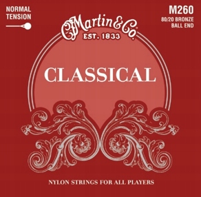 Martin M260 Struny do gitary klasycznej