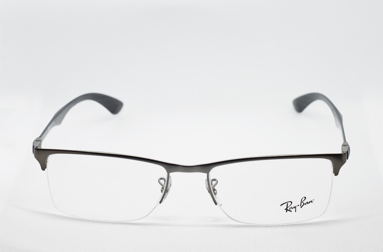 916fe2898e Okulary Oprawki RAY BAN RB 8413 2620 54-18 CARBON - 7356528943 ...