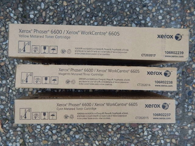 Xerox 6600,6605 toner żółty oryginał